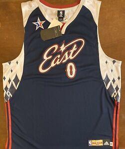Rare Adidas 2007 NBA All Star Washington Wizards Gilbert Arenas Agent 0 Jersey