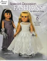 Special Occasion Fashions 18-Inch Dolls | Annie's 871606 (Orig Price $8.99) NEW!