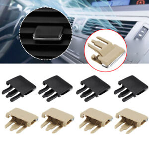 4 Pcs/Set Car Air Conditioning Vent Louvre Blade Slice Clip For Toyota Corolla