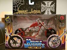 Muscle Machines Jesse James West Coast Choppers El Diablo Rigid 1:18 Die cast