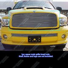 Fits 02-05 Dodge Ram 1500/2500/3500 Main Upper Billet Grille Insert