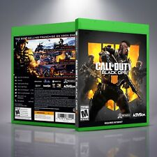 Call of Duty Black Ops IIII 4 - Replacement XboxOne XB1 Cover and Case. NO GAME