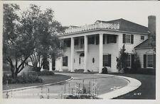 Vintage Real Photo Postcard - Bing Crosby Residence - North Hollywood CA