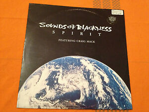 "SOUNDS OF BLACKNESS - SPIRIT (feat Craig Mack, Refugees) 1997 UK 12"" - VG/NM"