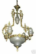 French Bronze Chandelier from the 19th C.  #3340