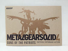 METAL GEAR SOLID 4 Pamphlet 48 pages TGS2007 / like Art Book