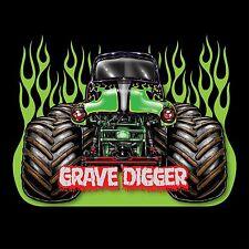 Grave Digger (Cartoon) POSTER 24 X 36 INCH