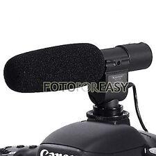 SG-108 Shotgun Stereo Microphone for DV DSLR Nikon D7100 D5100 D3300 D300s D5300