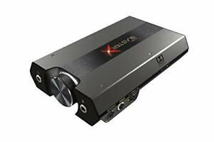 Sound BlasterX G6 Hi-Res 130dB 32bit/384kHz Gaming DAC, External USB Sound Card