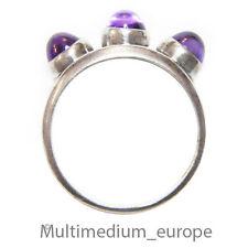 Silber Ring Amethyst Cabochon Design er  silver ring