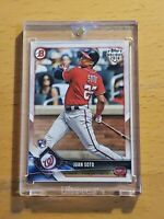 2018 Topps Vault Bowman Holiday 1/1 Juan Soto RC Blank Back Rookie One of One