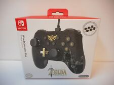 PowerA Zelda Breath Of The Wild Wired Nintendo Switch Pro Controller *NEW*