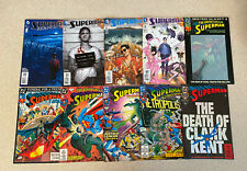 HUGE LOT of 70 SUPERMAN Comic Books -- All Pictured