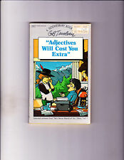 """Adjectives Will Cost You Extra 1982-Strip Reprints Paperback-"""" Doonesbury Book """""""
