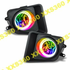 ORACLE Halo FOGLIGHTS for Toyota Tundra 14-18 ColorSHIFT LED no controller