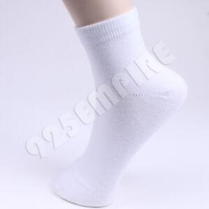 Men Ankle Quarter Socks Cotton Casual 6-12 Pairs Size:9-11,10-12