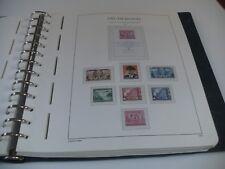DDR 1949-1965 ** postfrische Sammlung im Leuchtturm SF ab 1954 komplett