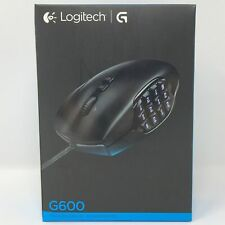 Logitech G600 MMO Gaming Mouse RGB Backlit 20 Programmable Customizable Buttons
