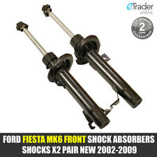 FORD FIESTA MK6 FRONT SHOCK ABSORBERS SHOCKS X2 PAIR NEW 2002-2009