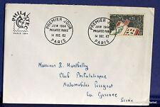 FRANCE Yt1403  Enveloppe 1er jour 14/12/1963 1964  philatec  fa28