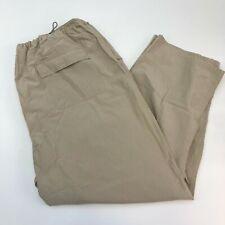 Mossimo Pants Mens 2XL XXL Tan Straight Leg Adjustable Waist Nylon Softshell