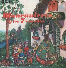 SNOW WHITE BLANCANIEVES EP Spain 1967 In Spanish