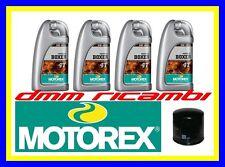 Kit Tagliando BMW R1200 GS 13>14 Filtro Olio MOTOREX BOXER 5W40 R 1200 2013 2014