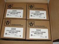 IBM 24R1922 LTO3 ULTRIUM 400GB 800GB LTO-3 TAPES IBM WARRANTY 20 PACK NEW