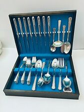 "HOLMES & EDWARDS INTERNATIONAL SILVERPLATE ""MAY QUEEN"" SERVICE FOR 8: 48 PIECES"
