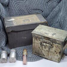 Vintage Dallan Plate and Film Developing Tank In Original Box Vs