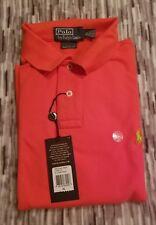 Men's XL Ralph Lauren Polo Shirt. Racing Red. Custom fit.