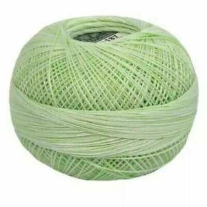 Lizbeth Egyptian Cotton Crochet Thread Size 20 Color 187 Green Ice