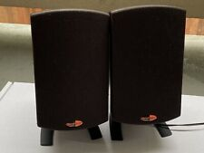 Klipsch ProMedia 2.1 Satellite Speaker Pair With Grill And Wires
