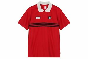 adidas Skateboarding Beavis and Butthead Polo Size S Red RRP £45 Brand New