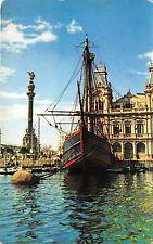 BF37404 barcelona spain monumento colon carabela santa maria Boat Ship Bateaux