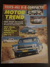 Motor Trend Magazine February 1961 Buick Special Olds F-85 Tempest GG AP UU L