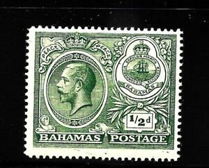 HICK GIRL-OLD MINT BAHAMAS  SC#65  KING GEORGE V.   ISSUE 1920    X1493
