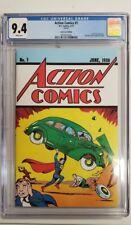 Action Comics #1 Cgc 9.4 Cómic Lote Caja Exclusivo Variante Superman 2017