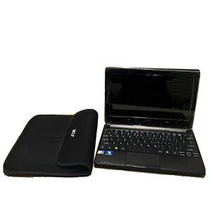 "Acer Aspire OneLaptop 10'1"" Laptop D257 + Sleeve FAULTY SCREEN LOCKED WORKS"