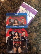 Batman V. Superman: Dawn of Justice (Blu-ray/DVD/Digital HD, 2016; Ultimate Ed.)