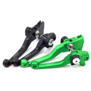 For KAWASAKI KX65/85/100/125/250 KX250F/KX450F Pivot Clutch Brake Levers KX LOGO
