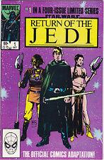 Star Wars , Return Of The Jedi #1 Vf/Nm