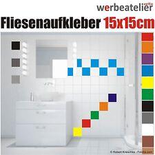 Fliesenaufkleber 15x15cm Küche Bad Fliesendekor Kacheldekor Aufkleber Badfliesen
