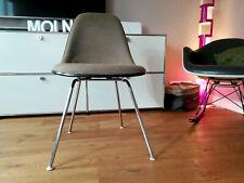 original CHARLES EAMES Side Chair DSX Fiberglas H-Base HERMAN MILLER Vitra 60er