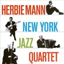 HERBIE MANN/HERBIE MANN NEW YORK JAZZ QUARTET - NEW YORK JAZZ QUARTET/MUSIC FOR