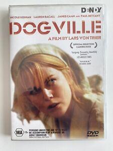 Dogville (DVD) Region 4 Lars von Trier Nicole Kidman Rare OOP Ex-Rental Disc!