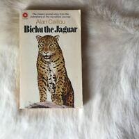 BICHU THE JAGUAR by Alan Caillou 1971 RARE VINTAGE 70s PB Illustrated BIG CAT