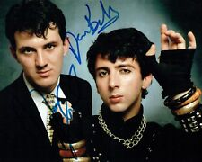SOFT CELL Marc ALMOND & David BALL Double SIGNED Photo 2 AFTAL Autograph COA