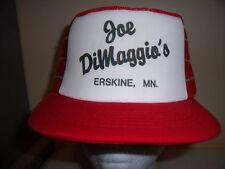 JOE DIMAGGIO ERSKINE SNAPBACK Baseball Cap Trucker Hat Retro Rare Unique Lid O