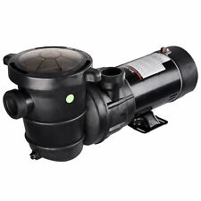 1.5Hp Swimming Pool Water Pump Above Ground Motor Strainer Efficient 3450Rpm
